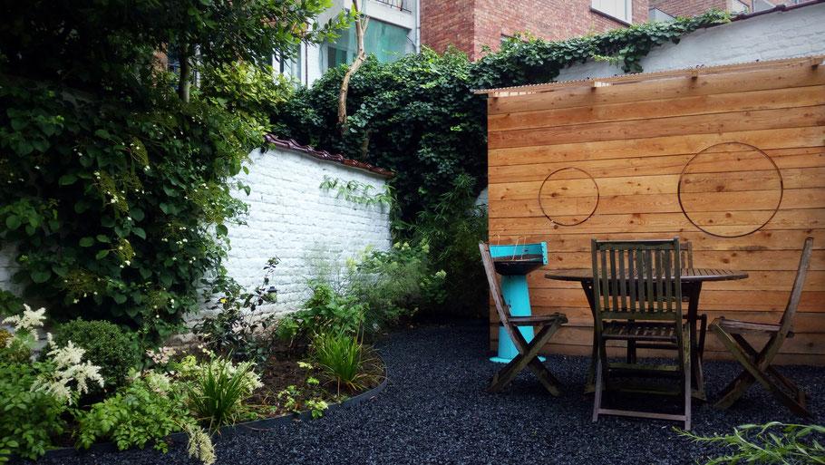 Jardin facile d 39 entretien paysagiste bruxelles for Jardin facile entretien