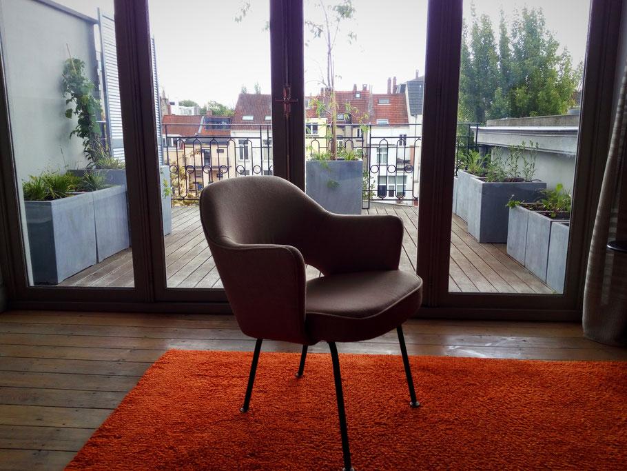 Aménagement d\'une terrasse d\'appartement - Paysagiste Bruxelles