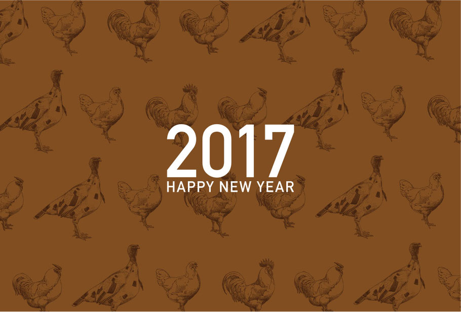 AMMODO 2017 NEW YEAR CARD