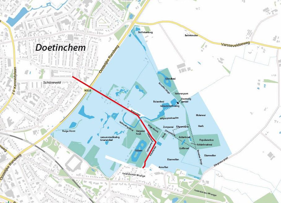 kaart Zumpe, toponiemen, eigendom