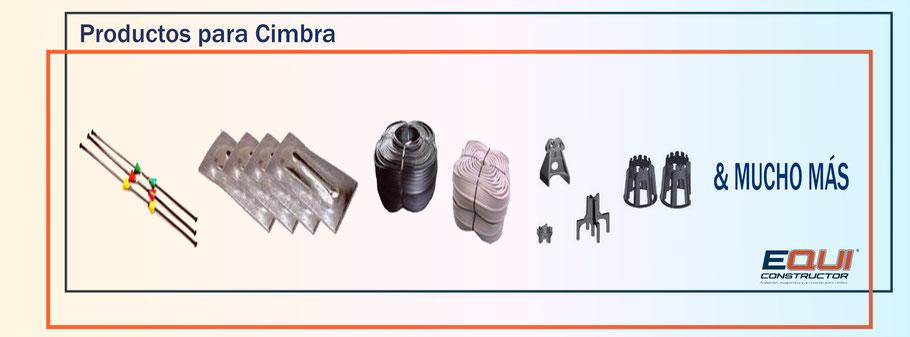 Productos para Cimbra