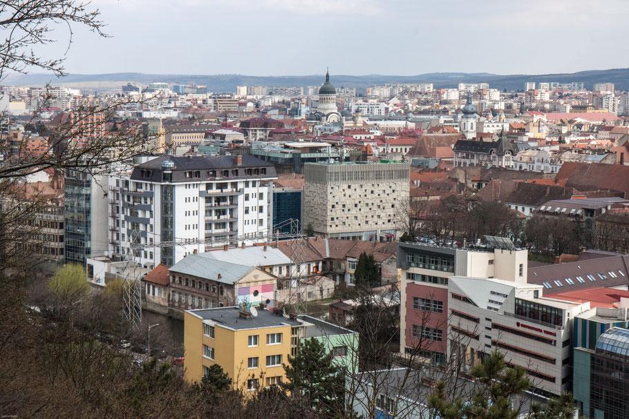 Ausblick auf Cluj-Napoca. (c) Salomé Weber