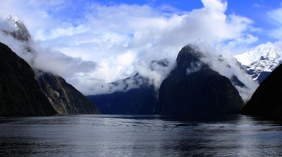 Milford Sound, Neuseeland (c) Salomé Weber