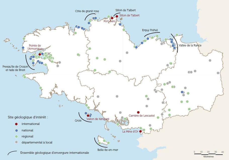 Source : Chiffres clés du patrimoine naturel / Observatoire de l'Environnement en Bretagne / 2015