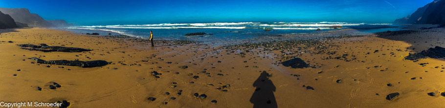 Playa de Cordoama Strand einsam idyllisch