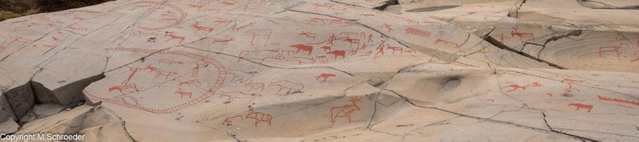 Alta Felsritzungen Felszeichnungen UNESCO Welterbe Weltkulturerbe