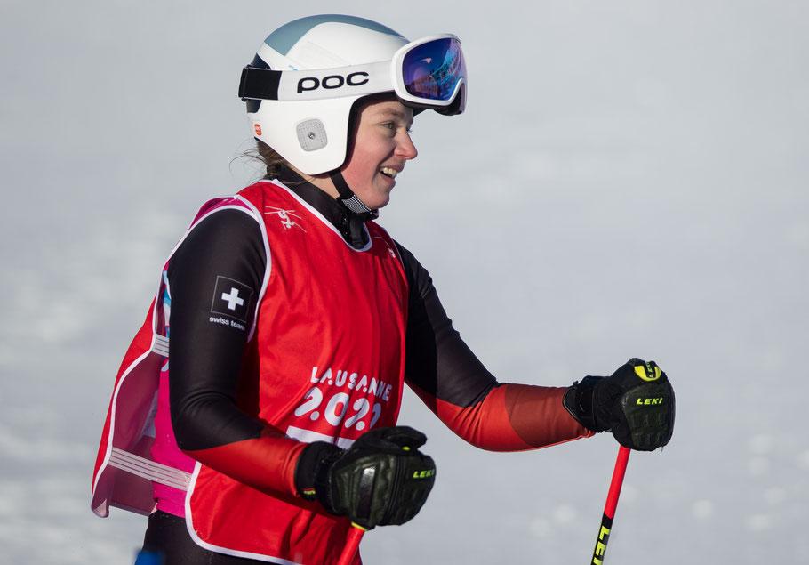 OIS/Chloe Knott - Marie Karoline Krista à la fin de sa course