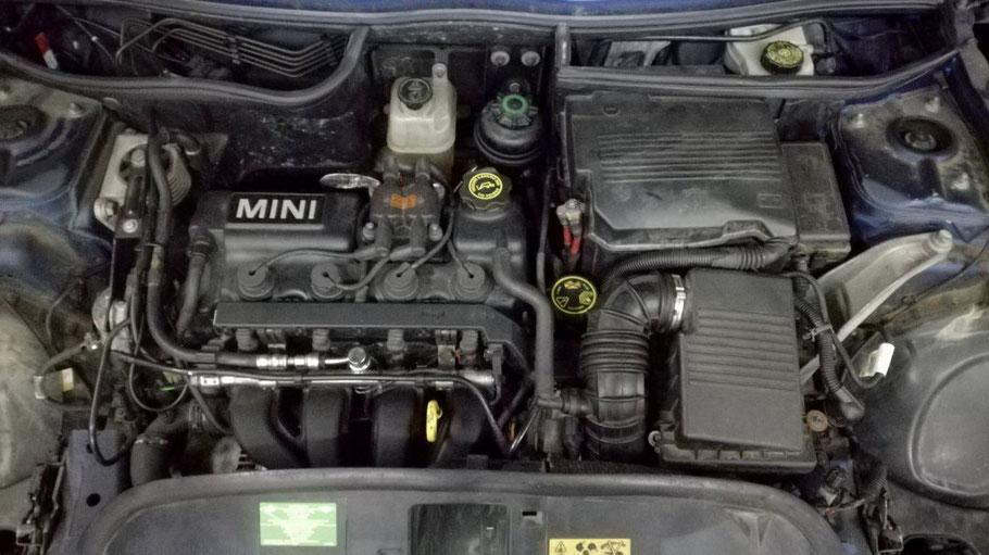 Kit éthanol sur Mini Cooper 1.6i