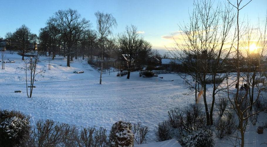Sneg v Oberurslu