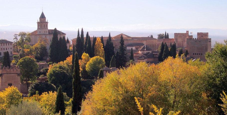 Andalusien Individualreise, Natur und Kultur Südspanien, Alhambra in Granada