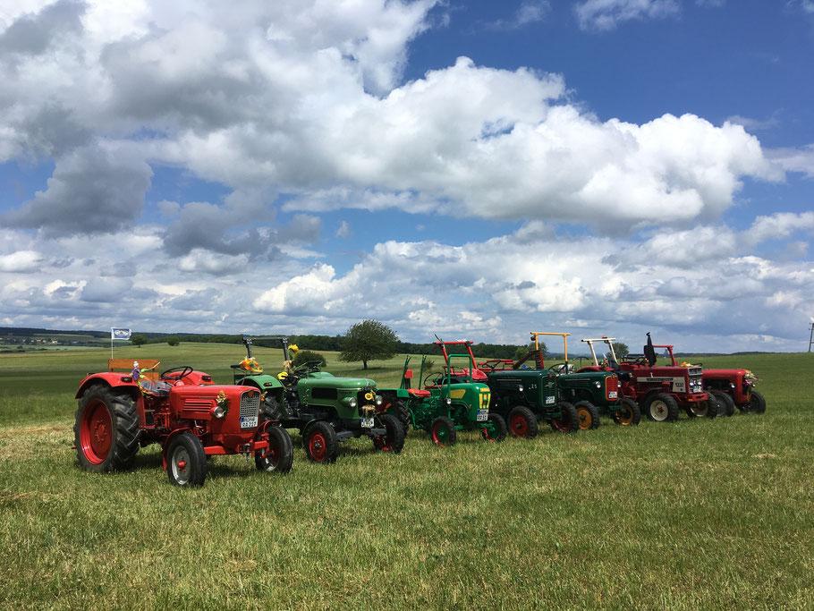 Traktorimpression Frühling 2020