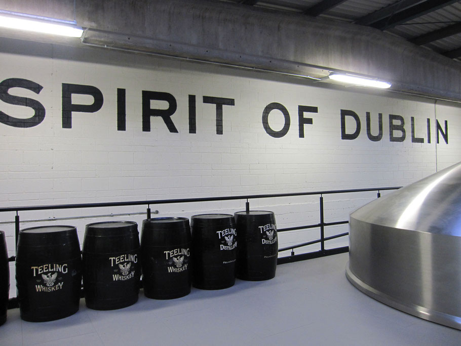 spirit of Dublin; Teeling; casks; fût