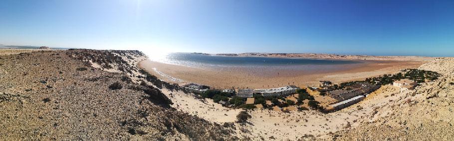 Lagune de Dakhla Coastal Lagoon https://coord.info/GC65QFF ist einer von nur drei Geocaches in der West-Sahara