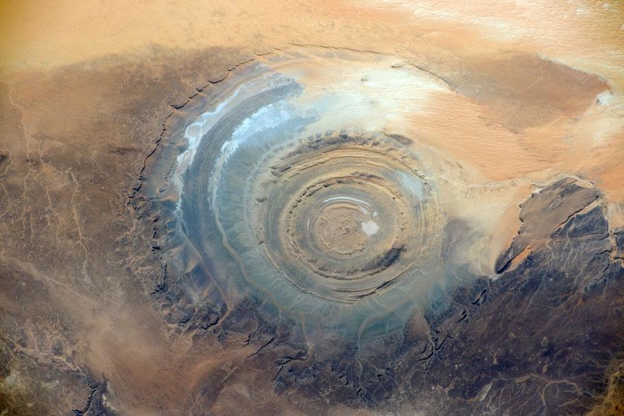 Foto der NASA - Das Bild wurde am 22.11.2014 von Bord der ISS aufgenommen