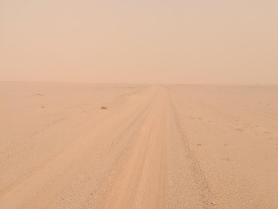 Die Erzbahnpiste - 400km Sand und Schotter