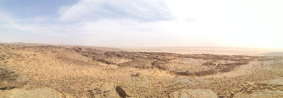 Die gut erhaltene Steinzeitsiedlung Akreijit
