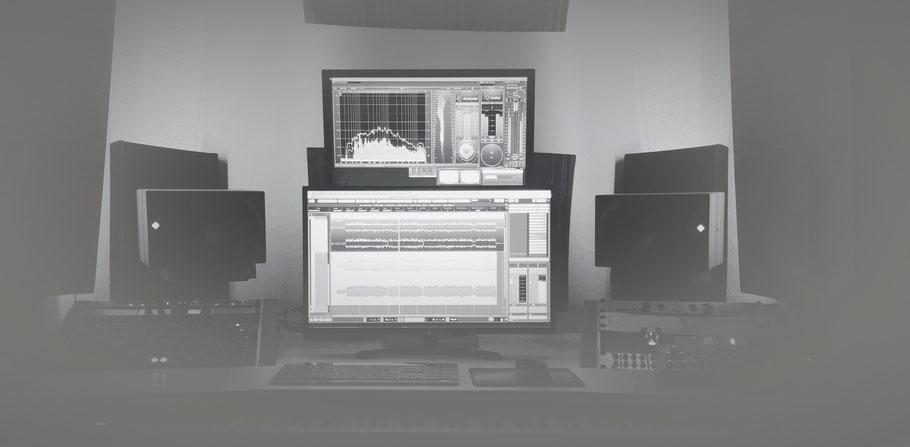 Mein Arbeitsplatz, Studio, Ambiente