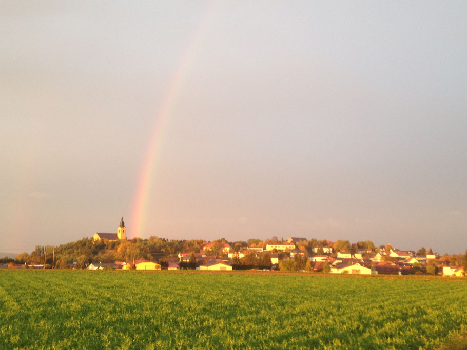 In Weitersfeld angekommen ...