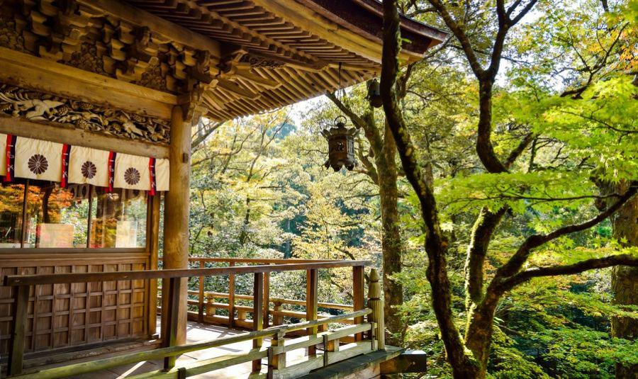 Bild: Teezeremonie Garten, Fluss