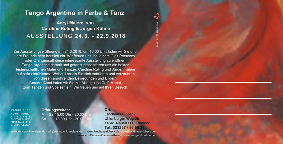 Tango Argentino Ausstellung in Ribbeck