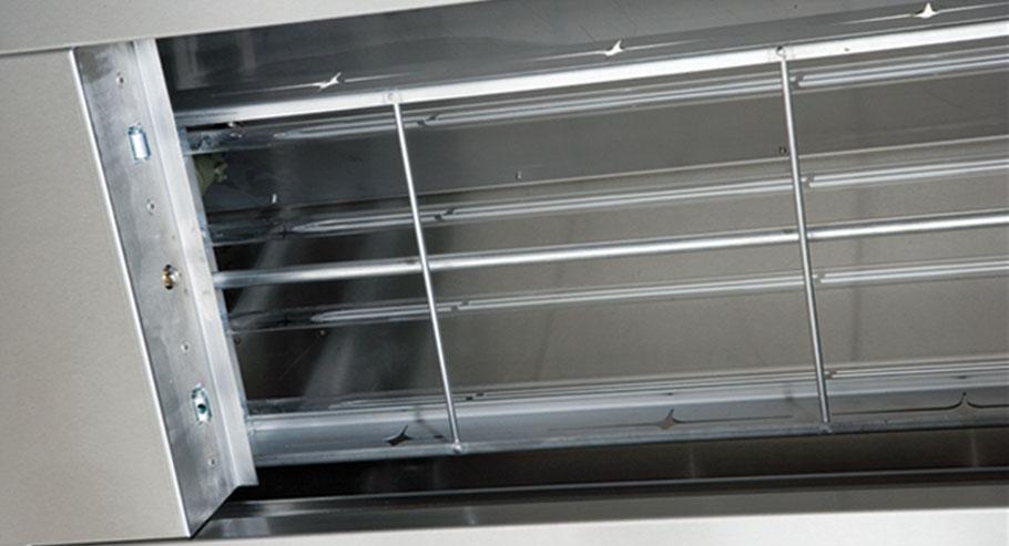 UV-C Ozon Anlage in der Küchenhaube