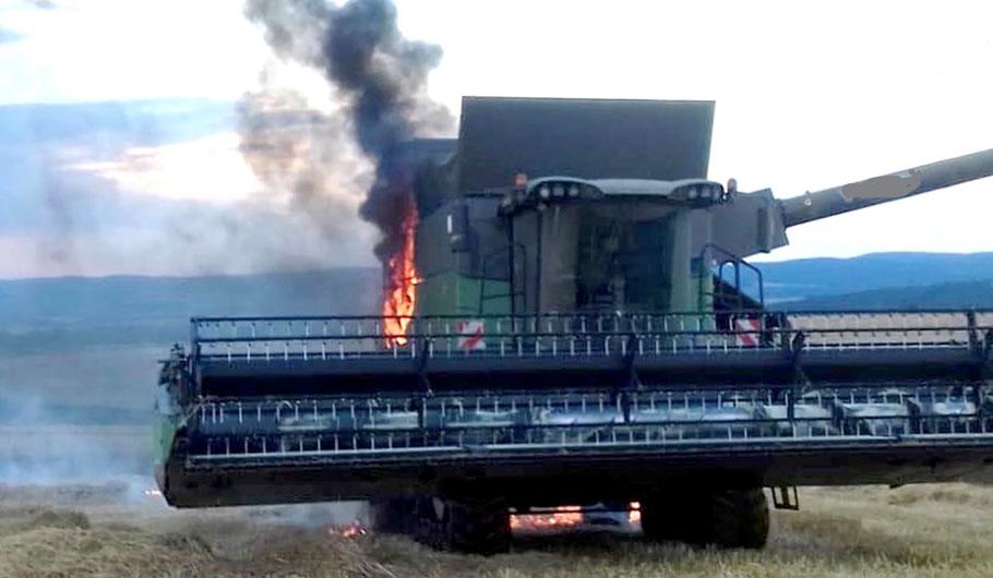 Löschanlage für Landwitschaftsmaschinen Bagger Kran Traktor Schwertransport Panzerfahrzeug Schienenfahrzeuge
