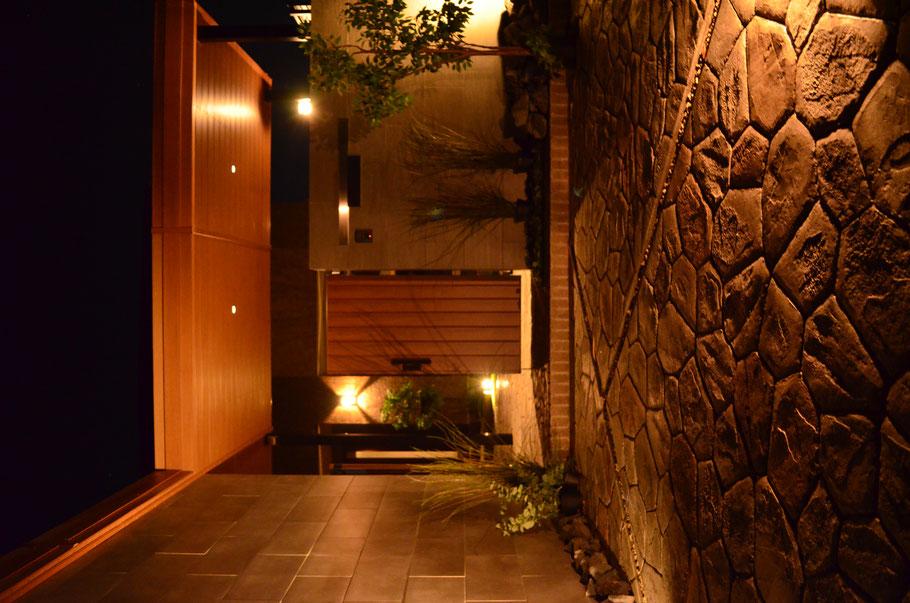 スタンプ ステンシル アレンジ ファンタジー グランド デザイン コンクリート タフテックス ローラーストーン 造形