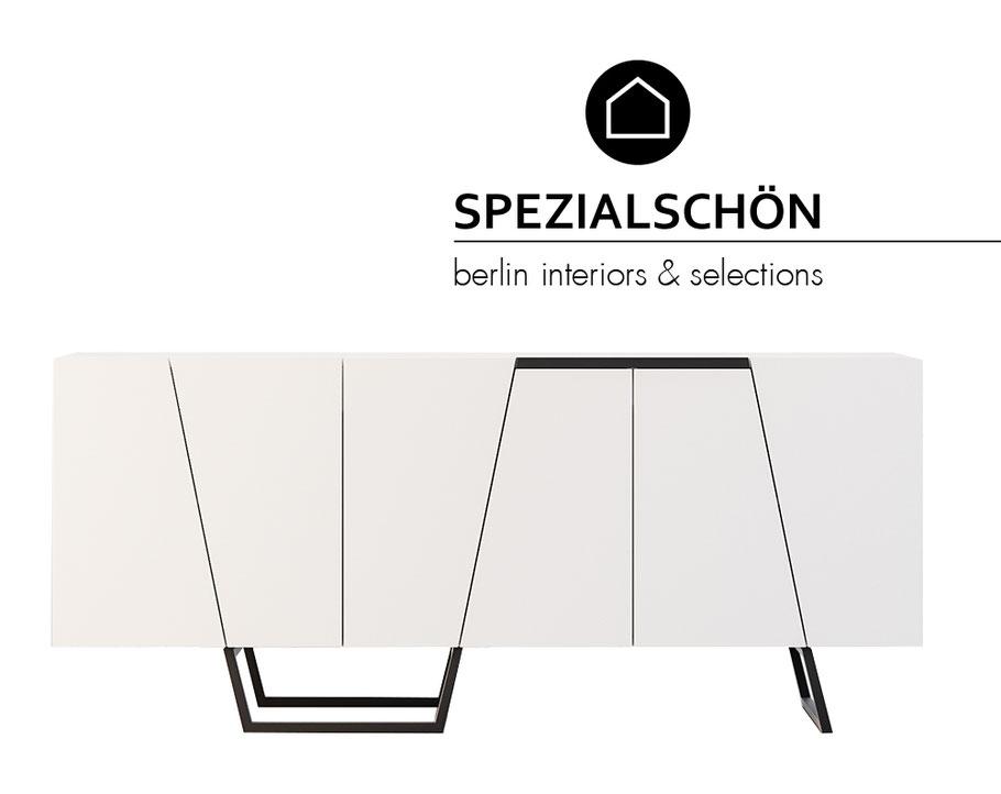 Graphic Sideboard, Grafik Sideboard, Chanel, BlackWhite, Modern Sideboard, Kommode, Schrank, Board, Modern Design, Designklassiker