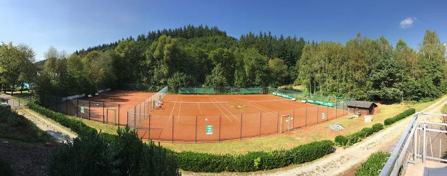 Tennis - Tennisplatz des Tennis-Club Morbach