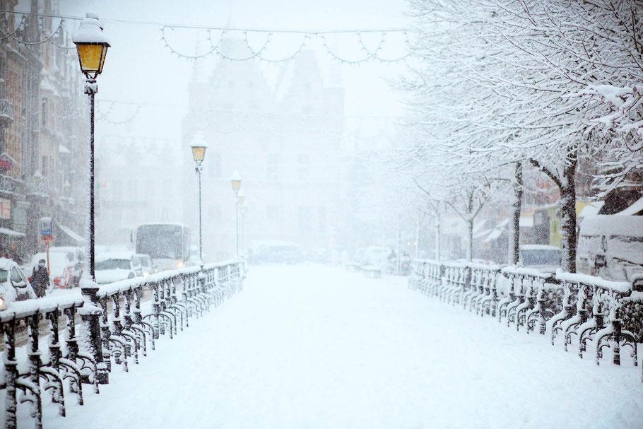 Winterdienst und Straßenpflege im Privatbereich Schneefrei in Frankfurt, Bad Homburg, Wiesbaden, Königstein und Umgebung