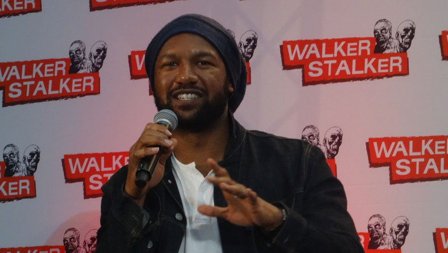 Kenric Green at Walker Stalker Con