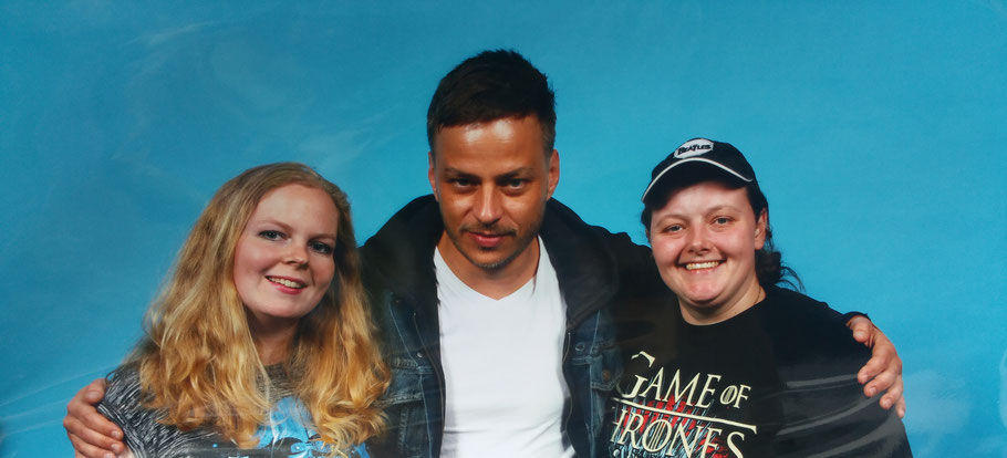 Meeting Tom Wlaschiha A Man Jaqen H'Gar Photo op