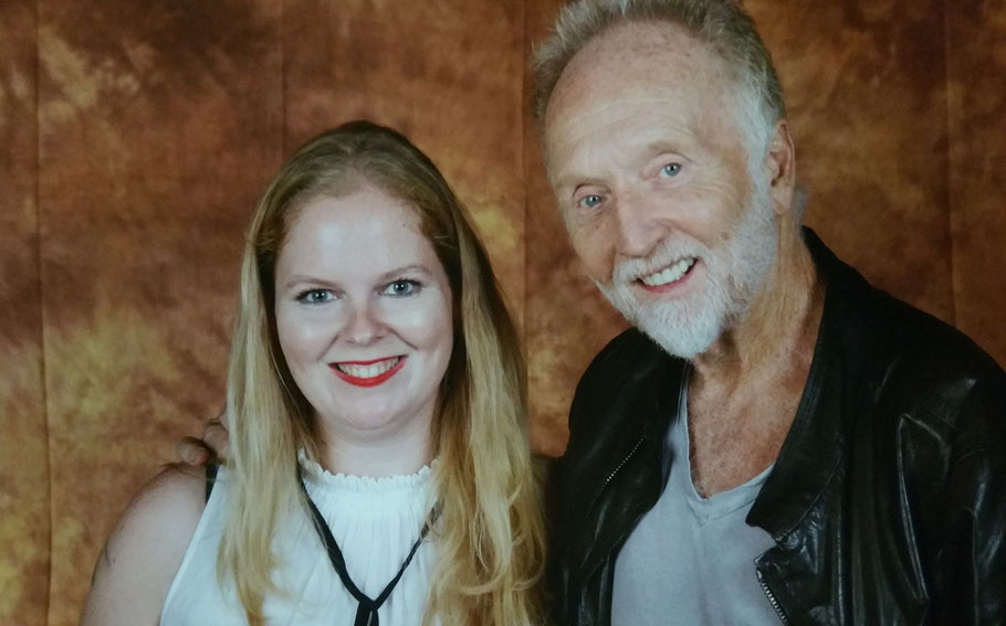Photo op Tobin Bell at Weekend of Hell