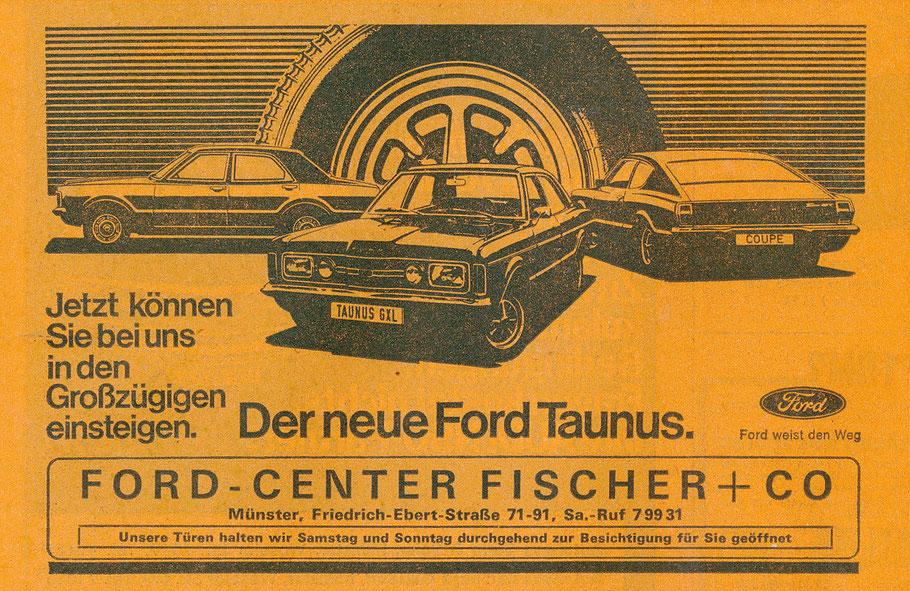 Werbung 1970