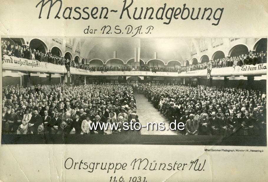Massenkundgebung der NSDAP 1931