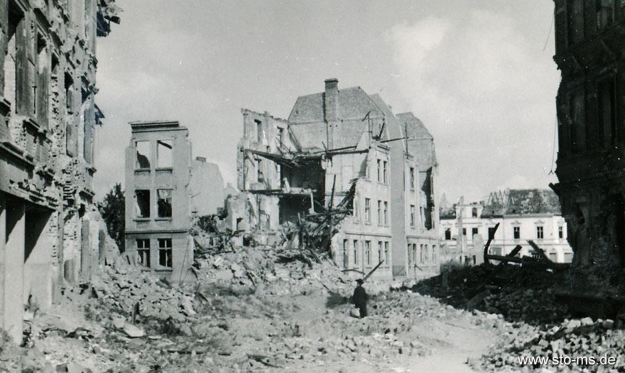 Hansaviertel Sommer 1945 - Foto Sammlung Henning Stoffers