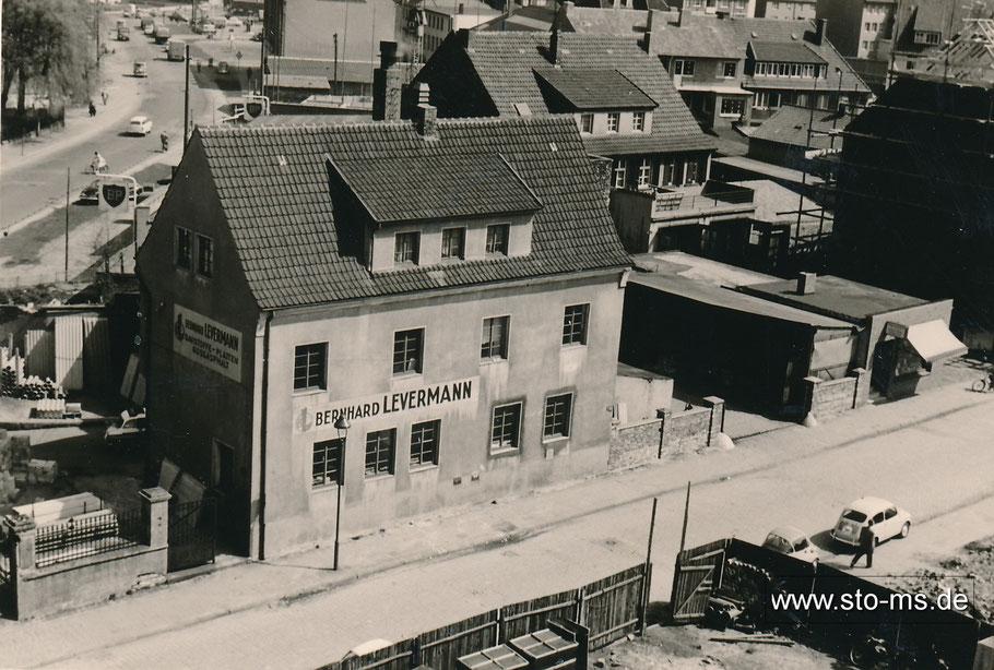 Links Albersloher Weg - Firmengebäude Bernhard Levermann