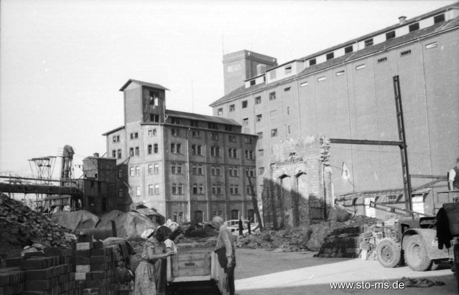 Herbst 1945 im Hafen - ULB Münster