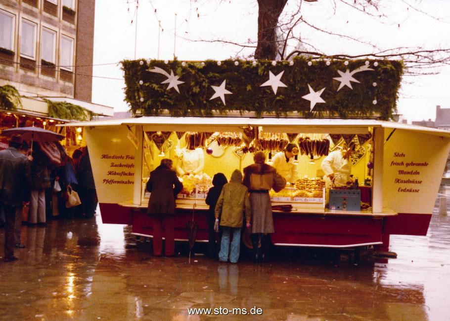 Weihnachtsmarkt 1973