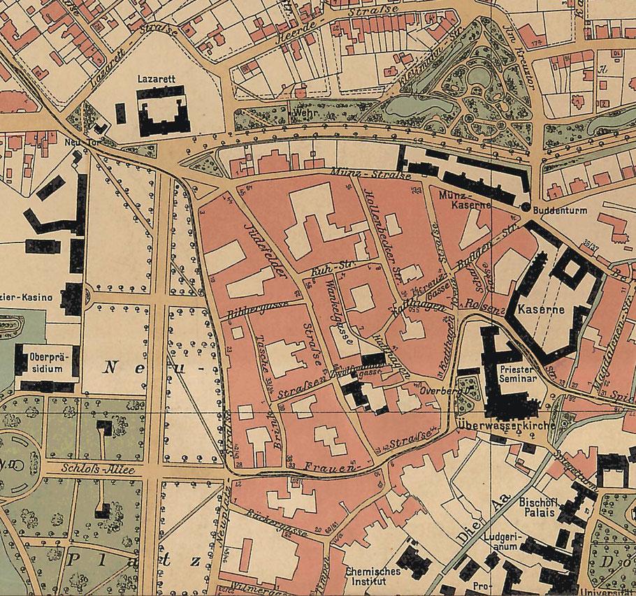 Ausschnitt Stadtplan 1903 6222.284.15