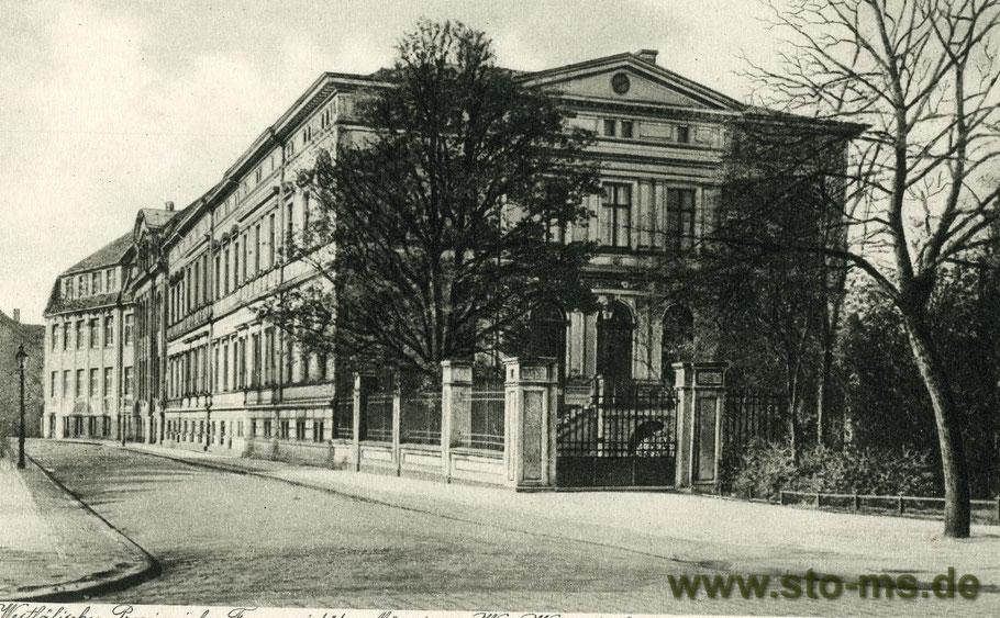 Die Westfälische Provinzial-Versicherung nahe der WarendorfernStraße