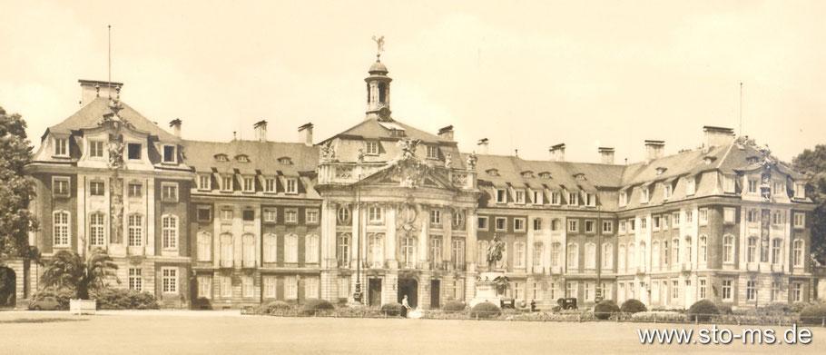 Das Schloss um 1930