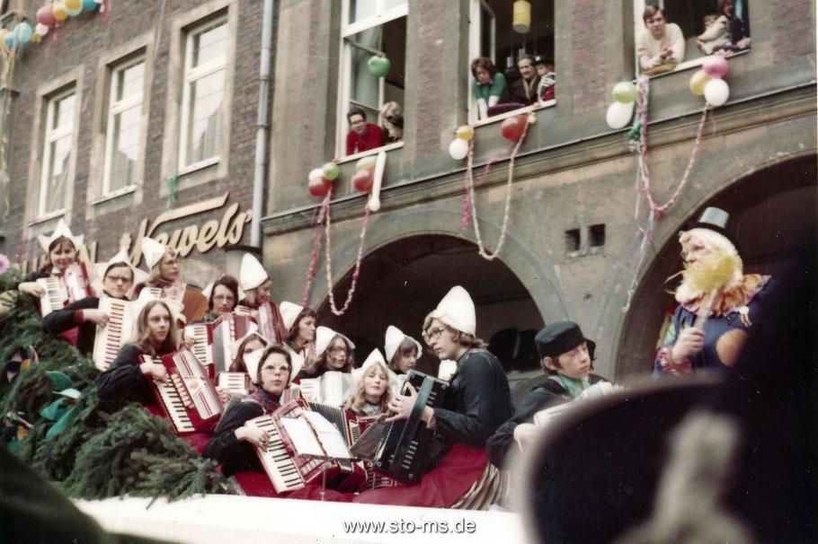 Karneval 1970er Jahre