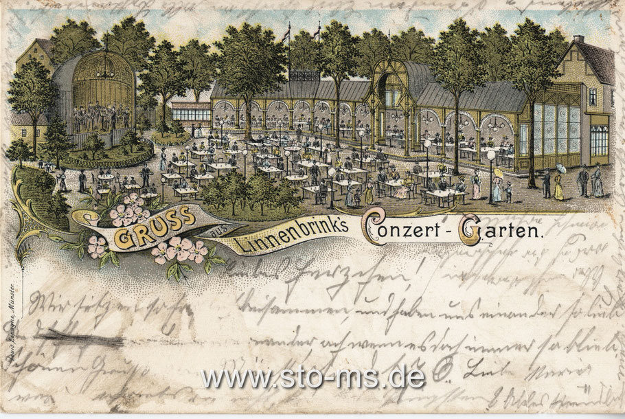 Linnenbrinks Concertgarten an der Warendorfer Straße