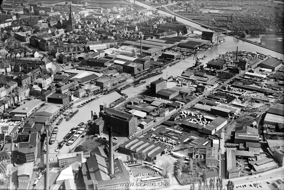 Der Hafen um 1960 - Foto Cekade