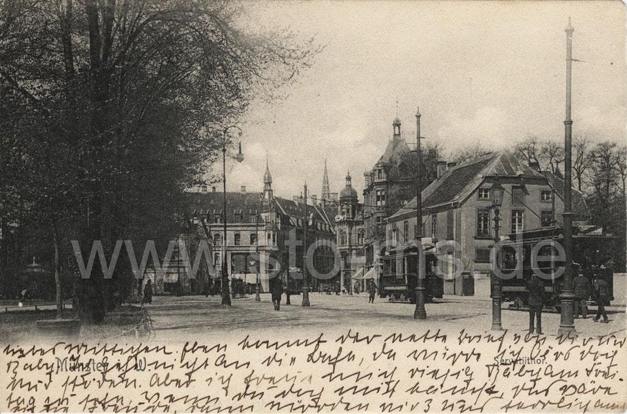 Ansicht um 1906 - rechtes Haus