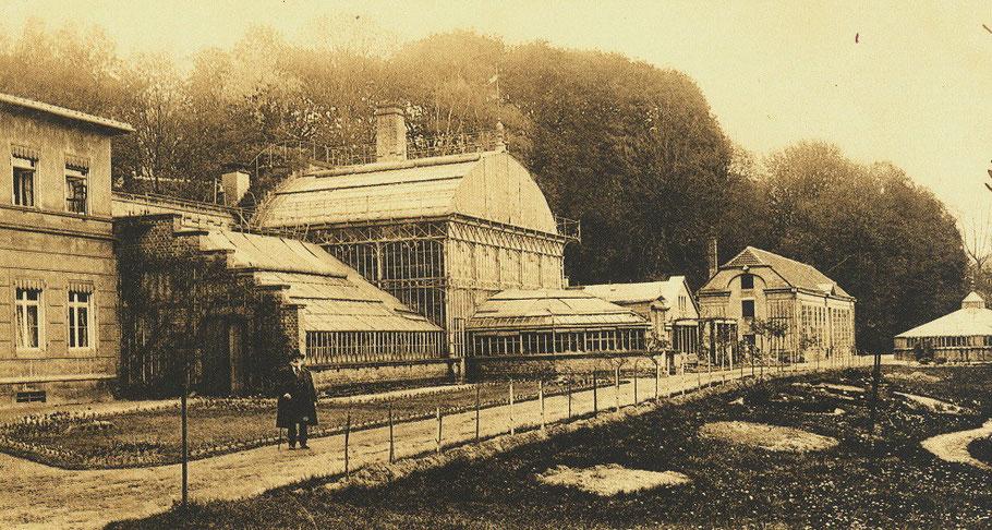 Ansicht um 1900