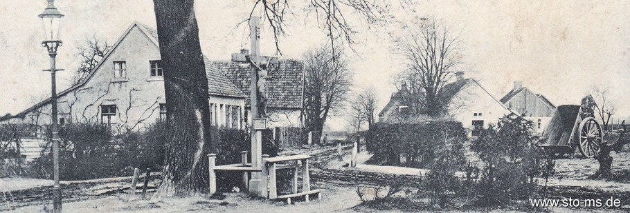 Straßenzustand der Nordstraße um 1900