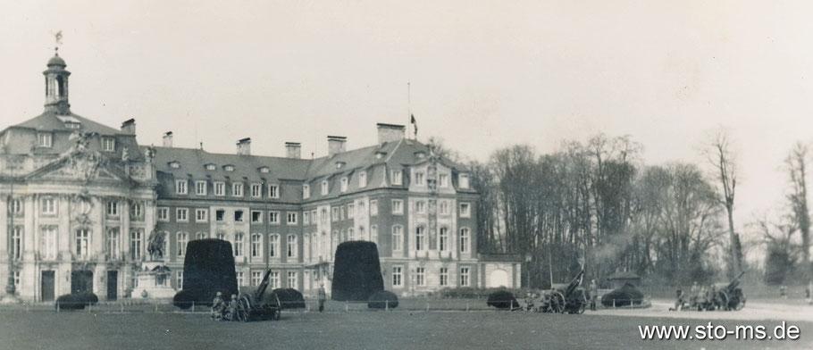 Militärische Vorführung um 1935