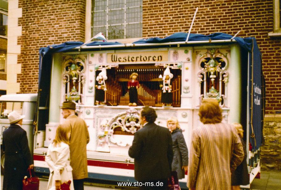 Holländische Jahrmarktorgel vor der Dominikanerkirche